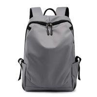 Simple Men's 15.6 Inch Laptop Backpack Waterproof Outdoor Travel Backpacks Male Quality Men School Teenagers USB Charge