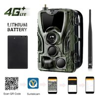 APP Trail Camera Clould Service 4G Hunting Cameras HC801PlusLI With 5000Mah Recharger Battery Wild Night Vision Surveillance