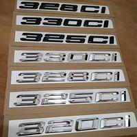 New M Power M Performance Car Insignia 320ci 325ci 328ci 330ci Emblema de coche Etiqueta engomada para BMW 3Series E46