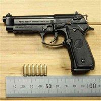 Tutta la lega M92A1 Beretta Shell Throwing Toy Gun Model Pistola dell'arma non può essere licenziata