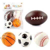 Mini Foam Sports Stress Balls Fidget Toys for Kids Adults Includes Baseball Football Basketball Soccer Toy Little Big Game LLB10949