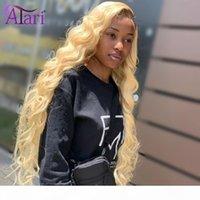 10a grau HD transparente renda perucas mel 613 rendas dianteira peruca corporal onda dianteira perucas Malásia cabelo virgem frontal