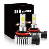 PAMPSEE 1200LM H4 H7 LED Car Headlight H1 H8 H9 H11 9005 HB3 9006 HB4 9012 LED Bulb Mini Auto Headlamp Fog Light For Car 6000K