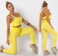 Tracksuits Designer yoga wear Women Suit Gym outfits Sportwear Fitness Align pant Leggings workout set tech fleece for woman sexy t shirts new style girls active sets