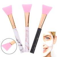 Silikon-Gesichtsmaske-Bürst-Marmor-Make-up-Foundation bilden weiche Gesichtsgel-Gel-Kosmetik-Schönheitspflege-Werkzeuge