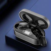 Auricolari auricolari Wirless Trasparenza trasparenza in metallo Rinomina GPS Wireless Ricarica a cuffia Bluetooth Generazione In-Ear Detection per cellulare