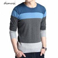Dimusi Automne Hommes Pulls Casual O-Col Coulé Solide Turtleneck Turtlameneck Sweaters Hommes Slim Ajustement en laine Tuyaux tricotés Vêtements I9Pi #
