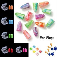 Nose Clip Soft Foam Silicone Corded Ear Plugs Ears Protector Reusable Hearing Protection Noise Reduction Earplugs Earmuff