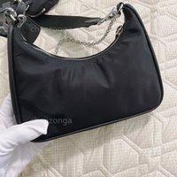 مصممون نايلون حقيبة الكتف حقيبة يد الأزياء الفضلات المحفظة السرج ثلاثة قطعة أكياس مزيج حمل