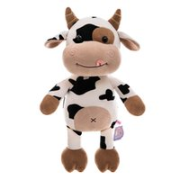 Farm animal plush toy cow doll Pillow stuffed dolls Kids Toys Baby Birthday Gift For Children