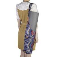 Yoga Mats Mat Pilates Bag Storage Backpack Fitness Pad Package Sport Handbag Gym Outdoor Activity Bohemian Large Pockets