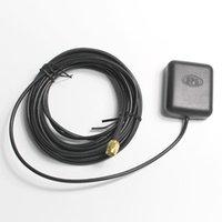 자동차 GPS 액세서리 ANT-1575R 안테나 5M 케이블 탐색을위한 내구성 자석 마운트 방수 28DBI SMA 인터페이스 긴 검정