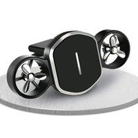 Multi-Function Car Bracket Magnetic Rotation Airport Navigation Car Mobile Phone Bracket