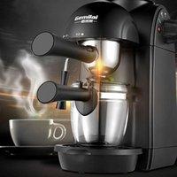 مصانع القهوة الكهربائية اسبريسو صانع المنزلية الصغيرة شبه التلقائي آلة وعاء البخار الحليب frother الآلات المكتبية BWE9990