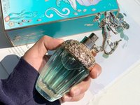 Premierlash Brand Mermaid Perfume 75ml Women Parfum Fragrance Eau de Toilette Lady Blue Glass Bottle Long Smell Cologne Spray Fast Ship