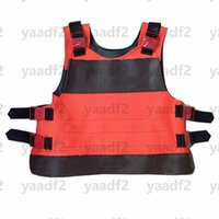 Vintage Letters Blossom Vests Tide Leather Tactical Tank Tops Mens Womens Fashion Street Hip Hop Vest Simulated War Game Body Armor
