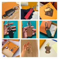Keychains Luxury Keychain For Women Leather High Qulity Bag Pendant Decoration Accessory Wholesale Customized