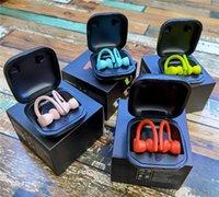 Dropship PB Pro Ear Hook Wireless Ohrhörer Mini Bluetooth Kopfhörer mit Ladekasten Power Display Twins Headsets 8 Farben