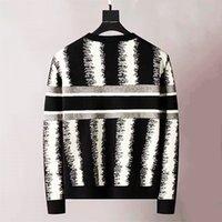 Suéter para hombre Chaqueta de diseño Jersey de lujo 2021 Classic Men's Golf Traje cálido Carta Nueva Letra Casual Suéter