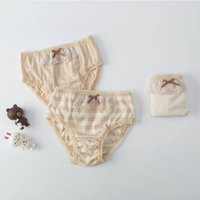 Pcs lot 2021 Teenage Girls Cotton Panties Children Underwear Clothing Kids Briefs Cute Soft Panty Underpants With Lace