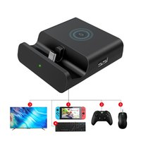 TV Docking Station Charging Base compatible with HDMI Type-C Charger 5 in 1 design For Nintendo Switch   Lite