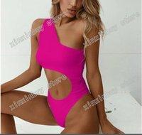 Bikini italien Spring Summer Nouveaux Lettres Double Lettres Print Femme Maillots de bain Femme Haute Qualité