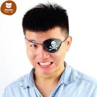 Pirate Skull Eye Patch Skull Crossbone Halloween Party Favor Bag Costume Kids mask Toy re