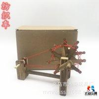 Musen نموذج خشبي الحلي الخشب المنسوجات سيارة العتيقة تلوح في الأفق بشكل مشهد بقعة حار بيع الحرف