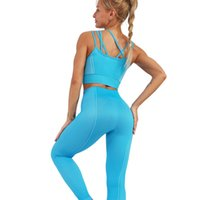 Designer Yoga Sportwear Trainingsanzüge Fitness BH Workout Sets T-Shirt Shorts Tops Leggings Outdoor Outfits Sport Hosen Fitnessstudio Tragen Kleidung Anzug YOGAWORLD Runing Set