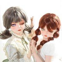 (Dollkii-ae) qualität handgemacht weiblich mädchen harz halb kopf cosplay japanische rolle spiel bjd kigurumi mask crossdresser puppe Andere Ereignissparty