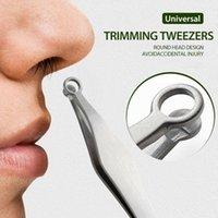 Trimmer ad orecchio del naso elettrico Tinmers universale Capelli Twoezers Potable Trimmer nasale Acciaio inossidabile Mini Rimozione Forbici facciale