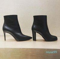 Lüks tasarlanmış cate botları kadınlar için, bayanlar kırmızı alt taban ayak bileği çizmeler zincirler paltform topuklular adox / eloise ganimet kış marka botu