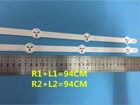 """Effekte 60-Stück / Los Original-LED-Streifen für 47 """"Reihe2.1 6916L-1174A 6916L-1175A 6916L-1176A 6916L-1177A, (6 * R1,6 * R2,6 * L1,6 * L2)"""