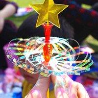 Creative Magic Bubble Magic Wand Puzzle Fulgor Brinquedo Toriço Magia Truque Bolha Fada Stick Holiday Presente Para Crianças q0422