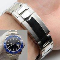 U1 Factory ST9 Edelstahl Gürtel Watch Bands Glide Verschluss Automatische Bewegung 20mm Größe Männer Uhren Herren 116610 Armbanduhren