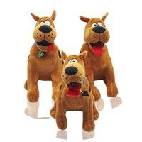 2021 Scooby Doo Karikatür Köpek Peluş Oyuncak Nesil Vakum Pompalama