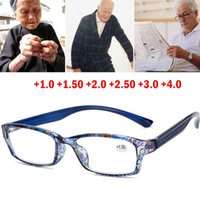 Männer Frauen Lesebrille Weitsichtige Vision für Hyperopie mit Frühlingsscharnier-Brillenpunkte + 1 + 1,5 + 2 + 2,5 + 3 + 3,5 A982 Sonnenbrillen