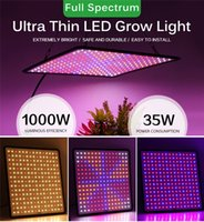3500K Growth Lamps 1000W LED Grow Light Panel Phyto Lamp Plant Full Spectrum Lead Lights For Indoor Growing Flowers Herbs