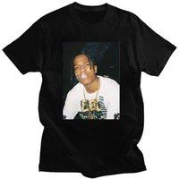 Summer Nagri Asap Rocky Printed Casual Short Sleeve Tshirts Men Hip Hops Tee Harajuku Streetwear Vintage Graphic Clothing
