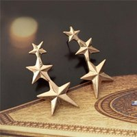 Factory Twisted 2020 Fashion Love Classic Gold Knot Color Stud For Women Simple Geometric Small Earrings Wedding Brida