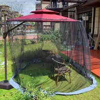 Tents And Shelters Outdoor Anti Mosquito Mesh Net Patio Umbrella Netting Gazebo Style For Yard Camping Equipment