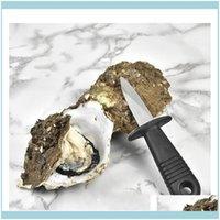 Outras facas Aessórios Cozinha, Bar Dineting Home GardenMultifunction Utility Cozinha Ferramentas de Aço Inoxidável Lidar com Faca Oyster Afiado