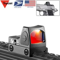 Trijicon RMR Red Dot Sight Collimator Dot Reflex Sight Scope Fit 20mm Weaver Rail for Airsoft / Hunting Rifle