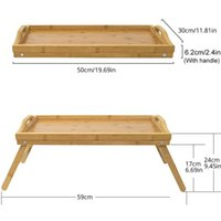 Bed-Tablett-Schreibtisch Computer-Stand-Studium-Tisch-Frühstück -Sofa-Notebook-Picknick-Laptop-Lagermöbel