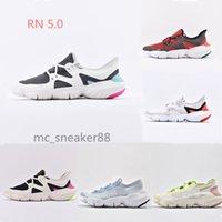 2021 запуск Обувь бесплатно RN 5.0 Открытый спортивный бегун кроссовки спортивные сандалии бренда дизайнер мужчин женщин дышащий легкий размер моды 36-45