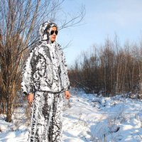 Camuflagem Biônica de Neve Geely Suit Winter Hunting Sniper