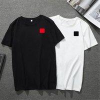 2021 Mens T Shirt European American Small Red Heart Printing NK Men Donne Coppie T-shirt