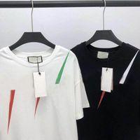 2021 20ss Hombres Camiseta de la camiseta Diseñador de letra Impresión Equipo Cuello Casual Verano Transpirable Para Hombre T Shirts Tops Sólido Tops Tops Venta al Por Mayor O4DF #