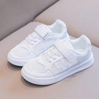 Zapatos de lona para niños Little Big Boys Entrenadores Zapatillas de moda para niños Sneaker blanco para niños