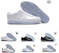 2020 New Classic Cortez Basic Cuir Plein Air Chaussures pas cher Mode Hommes Femmes Triple Noir Blanc Rouge Or Formateurs Chaussures de sport 36-45
